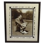 Byron Nelson Signed & Inscribed Photo to Clifford Roberts - Framed JSA ALOA