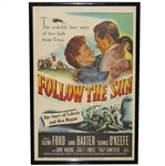 Authentic Follow the Sun Ltd Ed Theatrical Release Movie Litho-Poster Framed