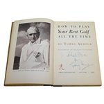 Charles Prices 1953 Personal How to Play Your Best Golf Book Signed by Tommy Armour JSA ALOA