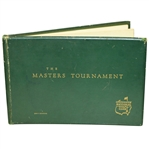 Post 1952 Album The Masters Tournament Augusta National Golf Club Member/Player Gift