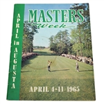 1965 Masters Week April in Augusta Magazine