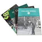 Golf Journal Magazines Signed by Player, Graham, Irwin, & Moody JSA ALOA