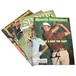 Sports Illustrated Magazines Signed by Snead, Player, Elder, & Jacklin JSA ALOA