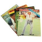 Sports Illustrated Magazines Signed by Floyd, Archer, Brewer, & Goalby JSA ALOA
