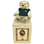 2001 Masters Tournament Ltd Ed #76/100 Cooperstown Commemorative Bear with Original Box