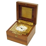 1981 Ryder Cup Player Gift - Matthew Norman Swiss Clock - Ray Floyd Collection