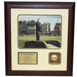 Arnold Palmer A Farewell to Remember Photo, Plaque, Ball Shadow Box Display - Framed
