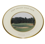 Pine Valley Golf Club Lenox Canada Cup Plate, 1997- 4<sup>th</sup> Hole, Fairway View