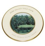 Pine Valley Golf Club Lenox Canada Cup Plate - 14<sup>th</sup> Hole, Jonh Arthur Brown Trophy