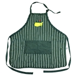 Masters Tournament Classic Adjustable Green Apron with White Stripes