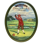 Walter J Travis 1904 Champion of the British Isles St Andrews Wall Hanging Golf Display