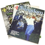 Four KINGDOM Magazines Featuring Jack/Arnie on the Covers