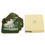 Augusta National Golf Club Pimpernel Member Acrylic Coasters with Box