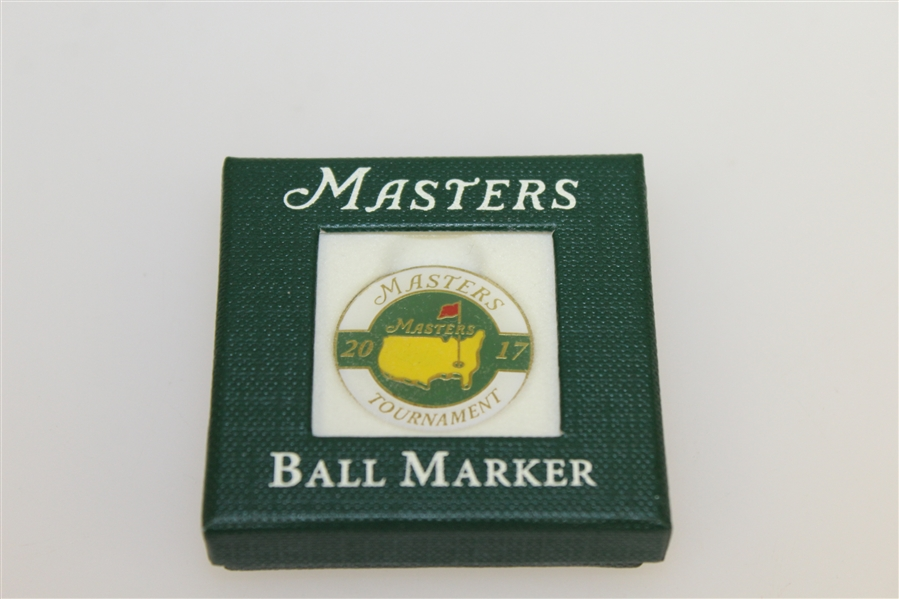 2017 Masters Hard Goods - Pro V1 Balls, Bag Tag, Ball Marker, Pin