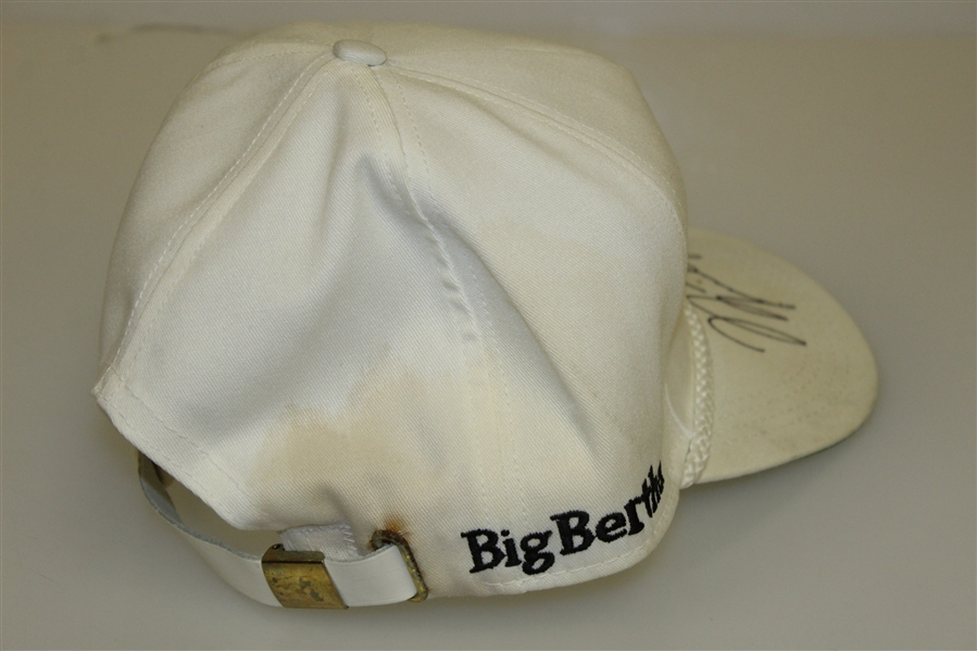 Michael Jordan Signed White Callaway Golf Hat JSA ALOA