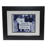 Jack Nicklaus & Jim Brown Signed 1963 Cleveland Open Photo - Framed JSA ALOA