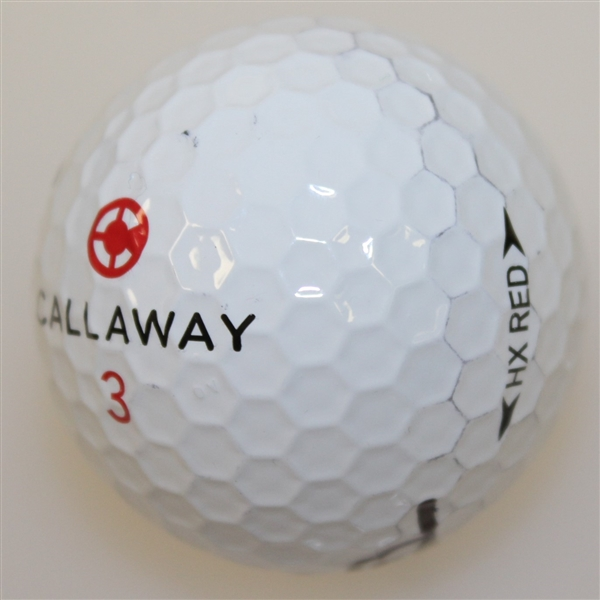 Gary Player Signed Callaway Golf Ball JSA ALOA