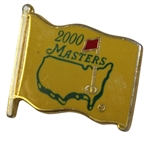 2000 Masters Tournament Commemorative Pin - Yellow Flag