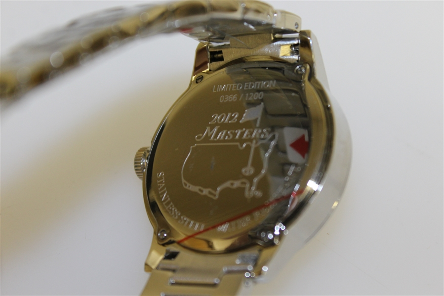 2012 Masters Tournament Ltd Edition Watch Honoring Arnold Palmer in Original Box
