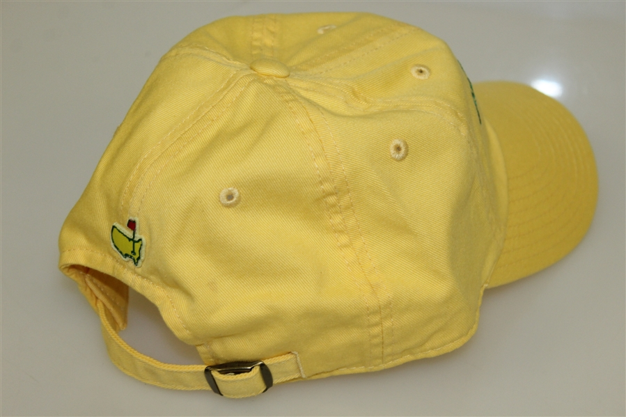 Augusta National Golf Club Member Yellow '1933' Caddy Hat