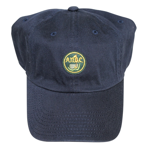 Augusta National Golf Club Member Navy 'ANGC' Circle Patch Hat