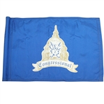 Congressional Golf Club Blue Course - Course Used Flag