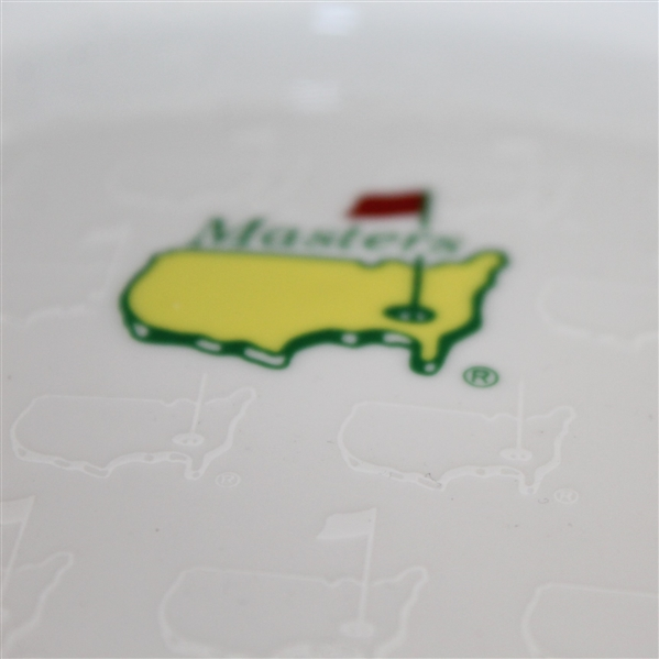 Masters Undated Ceramic Coin Tray with Augusta National Logos on Face