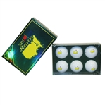 2005 Masters Tournament Half Dozen Pro V1 Golf Balls in Original Box - Unopened