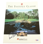 Arnold Palmer Signed 2000 The Instinet Classic Program PSA/DNA #M64461