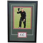 Gary Player Signed Cut with Photo in Signature Series Frame JSA ALOA