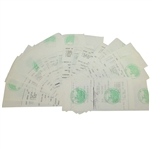 Twenty Ben Hogan Signed Shady Oaks Country Club Member Checks/Receipts JSA ALOA