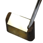 Unique Unmarked Putterscope Putter with Headcover - Possible Prototype