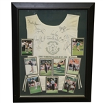 Multi-Signed Toronto Golf Club Caddy Bib by Payne Stewart & Others - Framed PSA/DNA #B99119