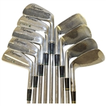 Seve Ballesteros Personal 1985 Tournament-Used Slazenger Sounder Iron Set w/Wedges