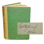 "Robert ""Bobby T. Jones Jr. & O.B. Keeler Signed 1927 Down The Fairway Book JSA ALOA"