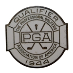 1944 PGA Contestant Player Badge
