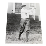 USGA Stamped Photo of Francis Ouimet At The 1913 US Open - The Country Club (Brookline, MA)