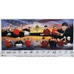 Ray Floyds 2016 USA Ryder Cup Team Signed Giclee Gifted By PGA W/Spieth, Koepka & Fowler