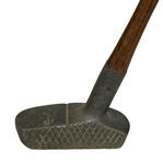 Harry C. Lee & Co. NY Rhombus Faced Schenectady Putter w/ Alighment Tool - Med. Lie Offset Mallet