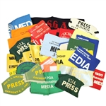 USGA Issued Media Arm Bands