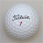 Phil Mickelson Match Marked Golf Ball - 1993 Masters