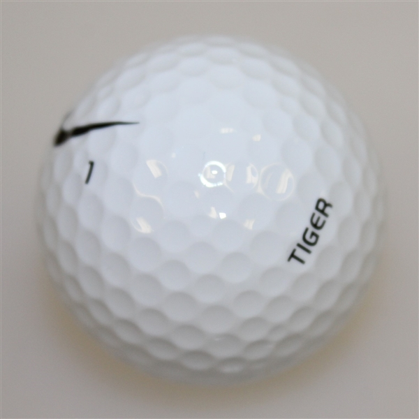 Tiger Woods Matched Marked Golf Ball - 2006 Masters