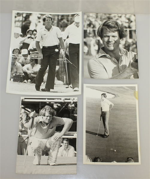 12 Various Sized Tom Watson Images Including Masters & The US Open