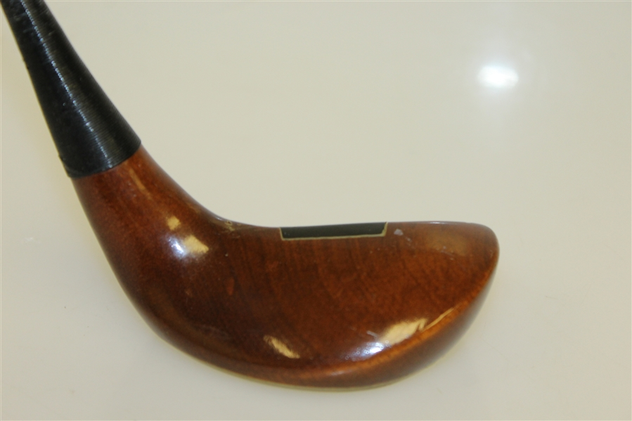 "Unusual ""PUTM"" 50 deg. Persimmon Wood Wedge - Great Condition"