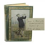 Jerome Travers Travers Golf Book Signed to Warren G. Harding - One of a Kind JSA ALOA