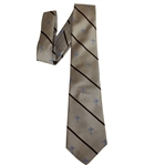 Ray Floyds Ryder Cup USA Team Issued Brown Tie - Made for Ryder Cup Matches