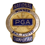 Ray Floyds PGA Past Champions Credential Badge - 1969 & 1982 PGA Wins