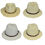 Four Don Cherry Personal Kangol Thin Fancy Strap Golf Hats - Brown, Multi, Multi, & Multi