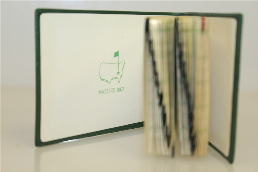 1967 Augusta National Masters Tournament Member Gift - Address Book in Original Box