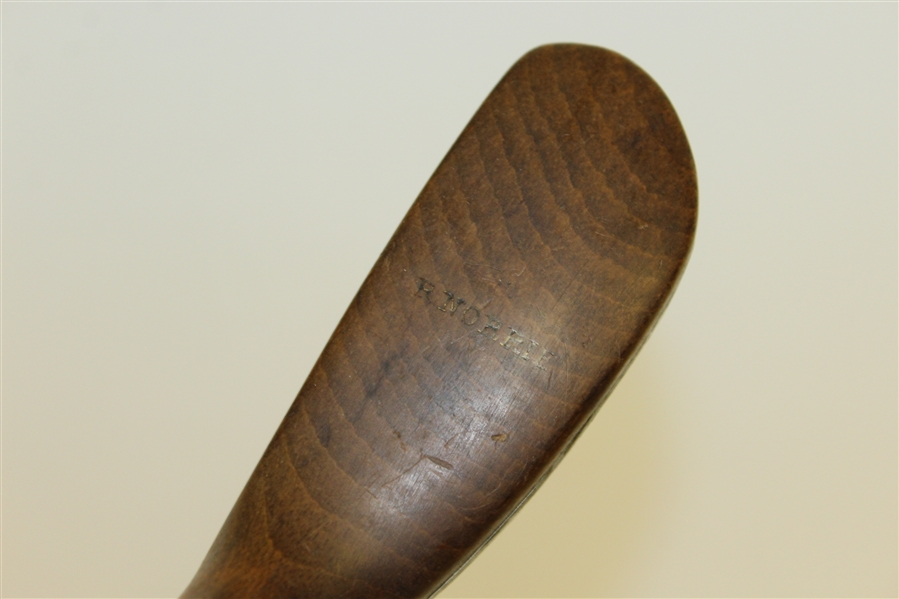 R. Norrie Vintage Semi-Long Nose Splice Neck Putter